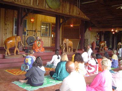 Taken at Guru Deva's Temple