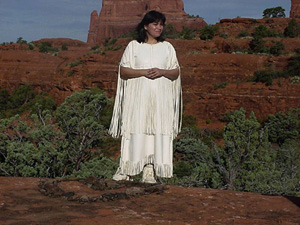Taken in Sedona Arizona at a Medicine Wheel Ceremony
