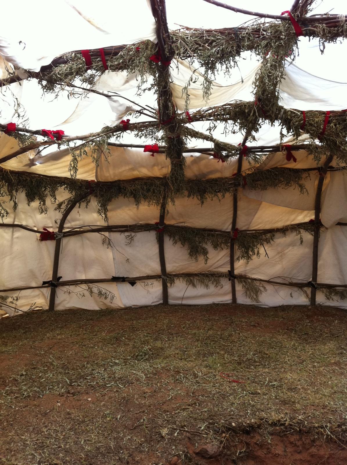 Sweat Lodge Ceremony in Sedona Arizona