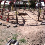 Sweat lodge cerermony in Sedona Arizona