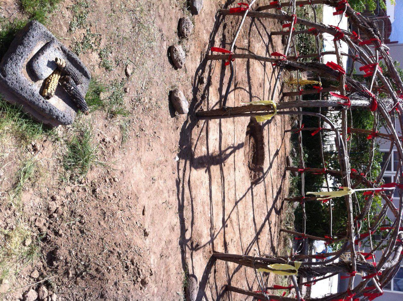 Sweat lodge cerermony in Sedona Arizona